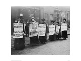 Suffragette Meeting 1910 Giclee Print