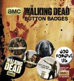 The Walking Dead Badge Pack Badge