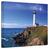 Kathy Yates 'Pigeon Point Lighthouse' Canvas Art Stretched Canvas Print by Kathy Yates