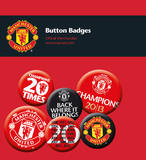 Manchester United Badge Pack Badge