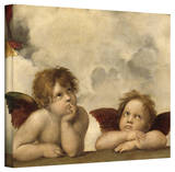Rafael 'Cherubs' Gallery Wrapped Canvas Stretched Canvas Print by  Raphael