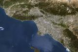 Satellite Image of Los Angeles Photographic Print