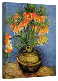 Vincent van Gogh 'Fritillaries' Wrapped Canvas Art Stretched Canvas Print by Vincent van Gogh