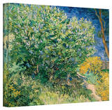 Vincent van Gogh 'Lilacs' Wrapped Canvas Art Stretched Canvas Print by Vincent van Gogh