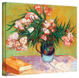 Vincent van Gogh 'Oleander' Wrapped Canvas Art Stretched Canvas Print by Vincent van Gogh