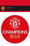 Manchester United Vinyl Sticker Klistermærker