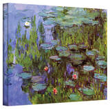 Claude Monet 'Sea Roses' Gallery Wrapped Canvas Stretched Canvas Print by Claude Monet
