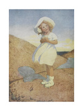 Young Girl Giclee Print by Jessie Smith