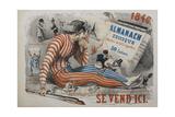 A Harlequin Giclee Print