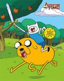 Adventure Time Cartoon Tin Sign Tin Sign