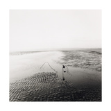 Ripples and Wire, West Sands, St Andrews, East Neuk Of Fife Giclee Print