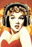 Marilyn Headphones Photo