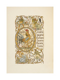 Rhyming Words Ending in the Letter N. To Illustrate the Use Of the Letter O. the Golden Primer Giclee Print by Walter Crane