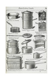 Patent Cooking Utensils Giclee Print by Isabella Beeton