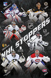 NHL Shot Stoppers Goalies Sports Poster Posters