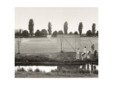 Cricket at Sandwich Giclee Print by Fay Godwin