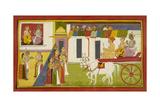 Dasaratha and Rishyasringa Giclee Print