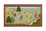 Ramayana, Bala Kanda Giclee Print