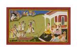 Rama Breaks Siva's Bow Giclee Print