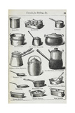 Utensils For Boiling Etc Giclee Print by Isabella Beeton