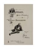 Hamlet, Prince Of Denmark. Giclee Print