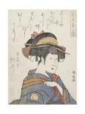 Kabuki Actor Giclee Print by  Utamaro