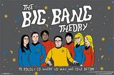 The Big Bang Theory - Boldly Go Television Poster Prints