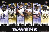 Baltimore Ravens Team NFL Sports Poster Print