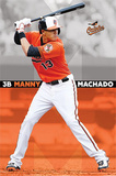 Manny Machado Baltimore Orioles MLB Sports Poster Print