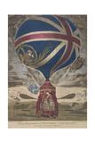 Mr. Lunardi's New Balloon - Giclee Baskı