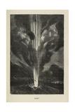 Feuer Giclée-Druck von Jules Verne