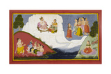 The Story Of the Ganges Giclee Print