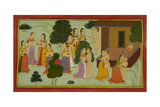 The Courtesans Tempt Rishyasringa Giclee Print