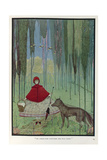 Little Red Riding Hood Giclee Print