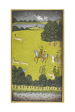 A Hunting Scene. Giclee Print by  Govardhan
