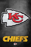 Kansas City Chiefs - Logo NFL Sports Poster Posters