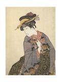 Kabuki Actor Giclee Print by Toyokuni Utagawa