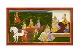King Romapada's Court Giclee Print