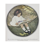 Everyday Fairy Book Giclee Print by Jessie Willcox-Smith