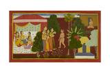 Rishyasringa and the Courtesans Giclee Print