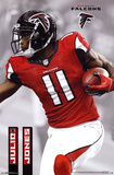 Julio Jones Atlanta Falcons NFL Sports Poster Print