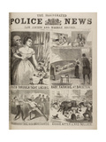 Various Incidents Featured in Illustrated Police News Giclee Print