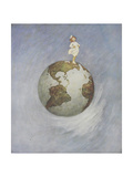 Jeune fille Impression giclée par Jessie Willcox-Smith