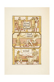 Rhyming Words Ending in 'D'. a Game Of Blind Man's Buff Illustrating the Use Of the Letter I Giclee Print by Walter Crane