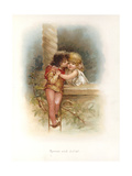 Romeo and Juliet Giclee Print by Edric Vredenburg