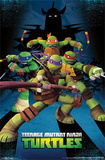Teenage Mutant Ninja Turtles - Assemble Cartoon Poster Posters