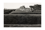 Richborough Castle, Kent 1982 From the Saxon Shore Way Series Giclee Print by Fay Godwin