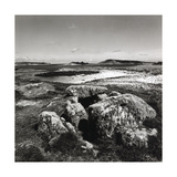 Burial Chamber, Little Arthur Scilly Isles Giclee Print by Fay Godwin