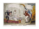 Opening Of Charles I's Coffin Giclee Print by George Cruikshank