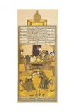 Bahram Gur Giclee Print by Talib Lala